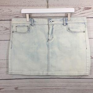 Calvin Klein Jean Skirt size 16!
